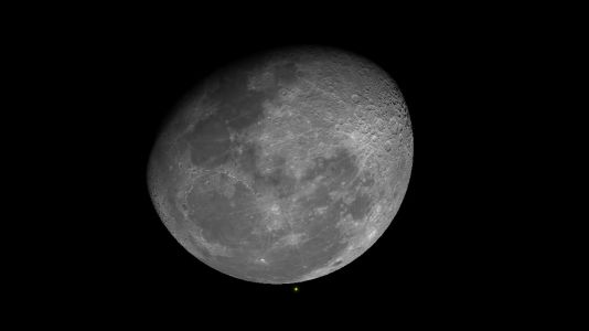 Watch Saturn Play Peekaboo with the Moon Tonight!