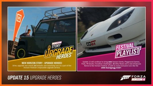 Forza Horizon 4 Series 15 is delayed.but only by a day