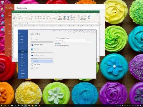 Make This PC your default location to save Office documents