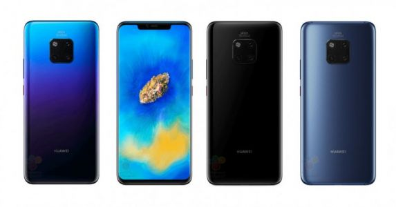 Here's our best look at at Huawei's Mate 20 Pro yet