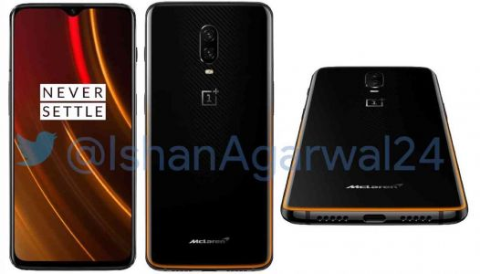 OnePlus 6T McLaren Edition leaks out with 10GB of RAM, Warp Charge 30 fast charging