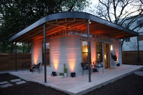These 3D-printed homes can be built for less than $4,000 in just 24 hours