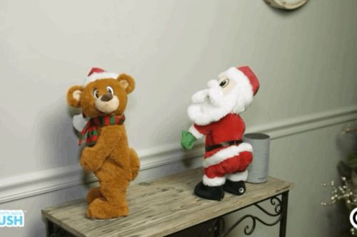 All I want for Christmas is this twerking Alexa-enabled bear
