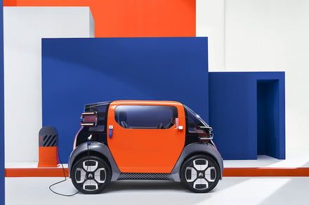 Citroën says you could drive its tiny Ami One electric car without a license