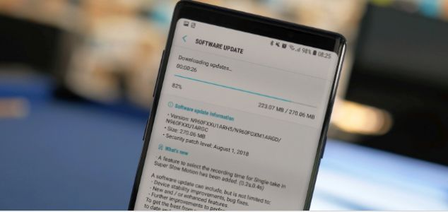 Non-beta Galaxy Note 9 users in UAE get stable Android 9.0 Pie
