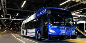 Quebec's first all-electric city transit bus launches in Laval