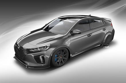 Hyundai Ioniq concept will teach the SEMA crowd about fuel efficiency