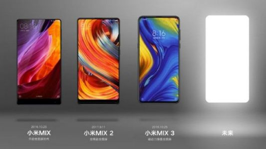 Xiaomi teaser hints that the Mi Mix 4 is in development