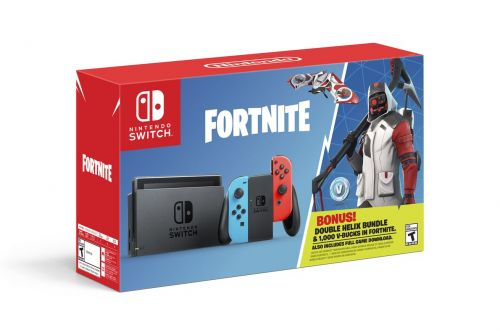Fortnite Nintendo Switch Bundle Offers A Skin And Some Extra Freebies