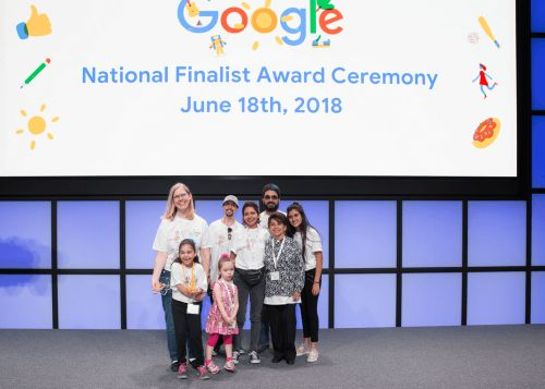 10th Winning 'Doodle 4 Google' Features Digging & Dinos