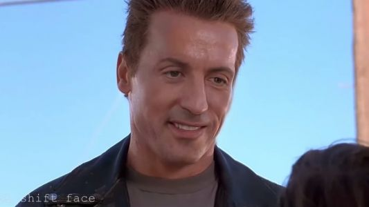Arnold Schwarzenegger and Sylvester Stallone Get a Weird Face Mashup in This Clip From TERMINATOR 2