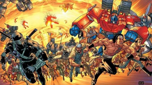 """G.I. JOE and TRANSFORMERS Producer Believes a Crossover Movie Is """"Inevitable"""""""