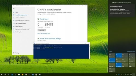 Unabling PUA protection feature on Windows Defender Antivirus