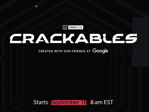 OnePlus Crackables launches Sept. 18, includes $30,000 gaming setup prize