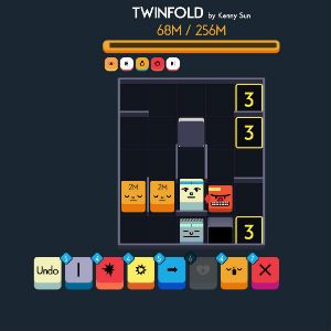 Behind the mashed-up roguelike charm of Twinfold