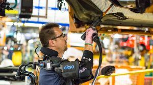 Ford's Factory Floor Exoskeleton Vest: 'Power Without Pain'