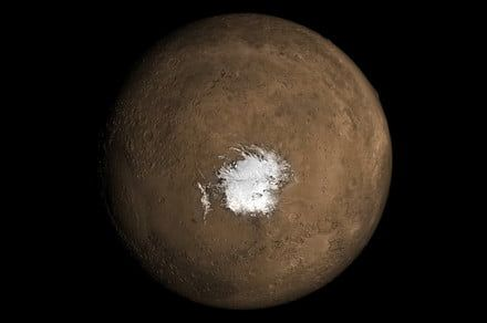 Underground volcanoes could explain possible liquid water on Mars