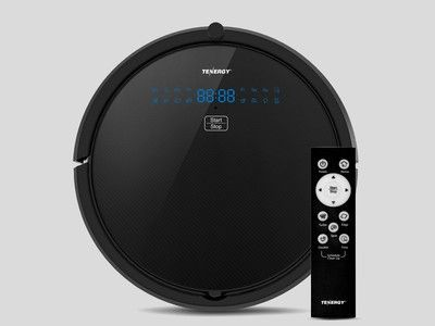 The $120 Tenergy Otis robot vacuum cleaner is smart enough to charge itself