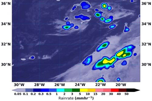 A 'zombie tropical storm' just came back to life in the Atlantic