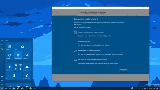 Why Insiders should opt-out of the program when Windows 10 Fall Creators Update launches