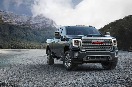 Think trucks are basic? The 2020 GMC Sierra HD can see through a trailer