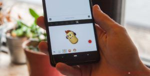 Become a polar bear and other characters with TouchPal's AR Emoji