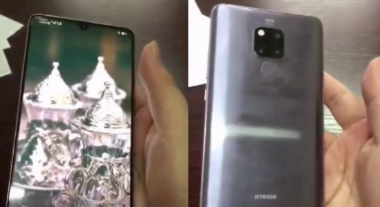 Huawei Mate 20 Leaked in Hands-on Video