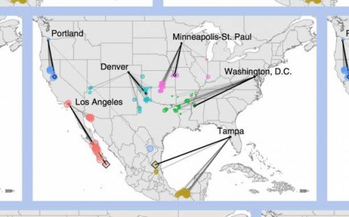 Seeing Climate Change: This map shows your city's hot future
