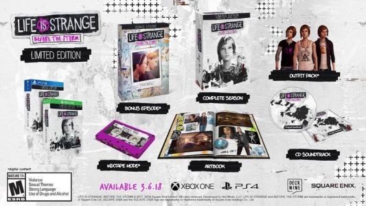 Life Is Strange: Before the Storm Limited Edition discounted to $18.59 on Amazon