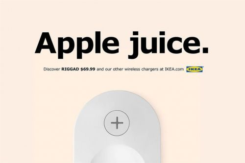 Ikea uses iPhone 8 launch to remind us it still makes wirelessly charging furniture