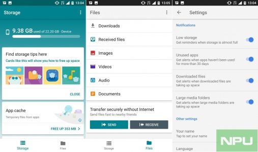 Files Go for Android updated with new features. See Changelog inside