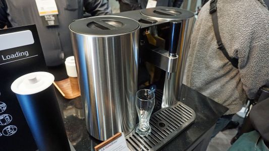 LG HomeBrew takes all the fun out of making your own beer - but I want one anyway