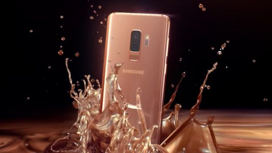 Samsung Galaxy S9 is ready to shimmer in sunrise gold