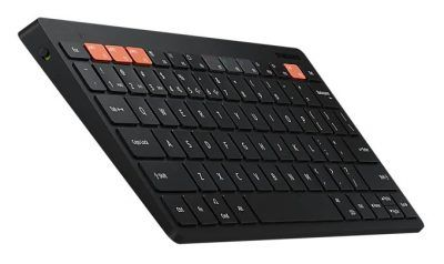 Samsung Smart Keyboard Trio 500 with a DeX button is made for tablets, phones, and PCs
