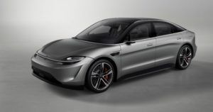 Sony reveals the Vision-S electric car