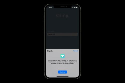 IOS 15 and macOS 12 take a small but significant step towards a password-less future