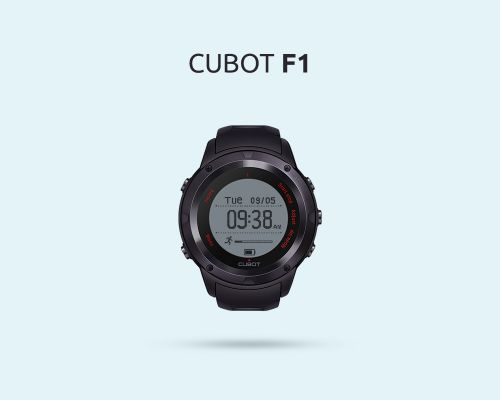 Cubot F1 Coming Soon - The Smartwatch for the Pragmatist?