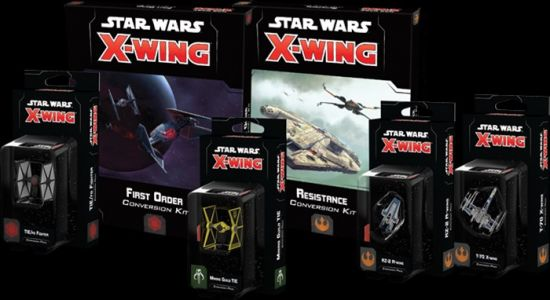 Resistance and First Order Releases Available For X-Wing