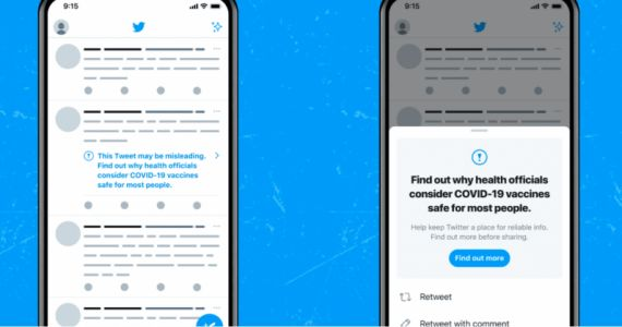 Twitter will ban you for spreading COVID-19 vaccine misinformation