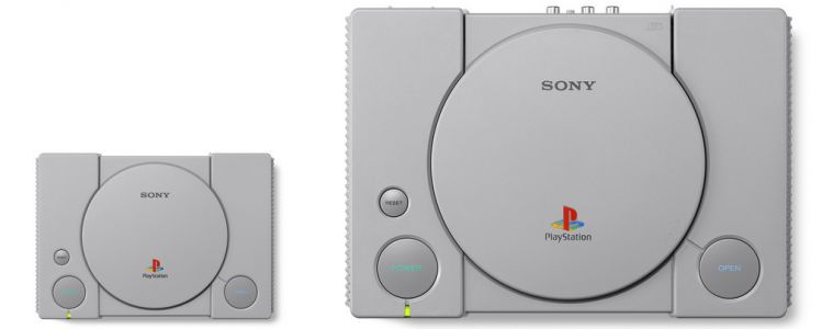 Sony PlayStation Classic Mini Console Revealed, Includes 20 PS1 Games