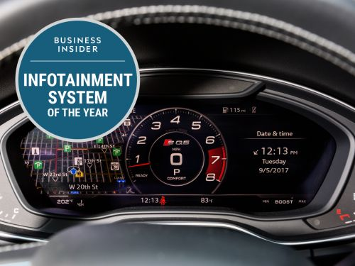 Audi is a repeat winner for Business Insider's 2017 Infotainment System of the Year