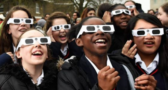 Here's an idea: Buy solar eclipse glasses now for $15 so you don't have to pay $150 later