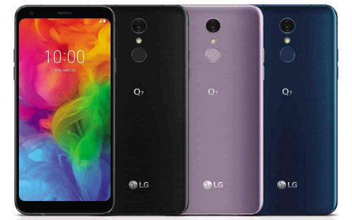 LG Q7, Q7+, and Q7α feature 5.5-inch displays and IP68 water resistance