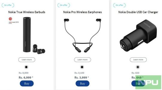 Official discount of 30% on Nokia Accessories over this weekend in India