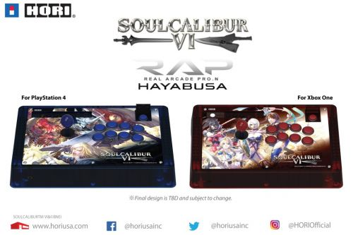 HORI SoulCalibur VI RAP.N for PlayStation 4 & Xbox One officially revealed, now available for pre-order from GameStop