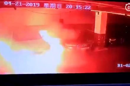 Tesla rushes investigators to China to figure out why a parked Model S exploded