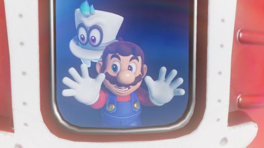 Super Mario Odyssey is the first Mario game to put characters at its core