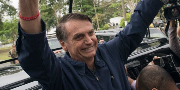 WSJ endorses far-right Brazilian presidential frontrunner who said an 'ugly' female colleague didn't 'deserve to be raped'