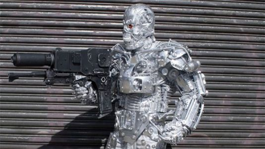 This Artist Turns Junk Into Life-Sized Robot Costumes
