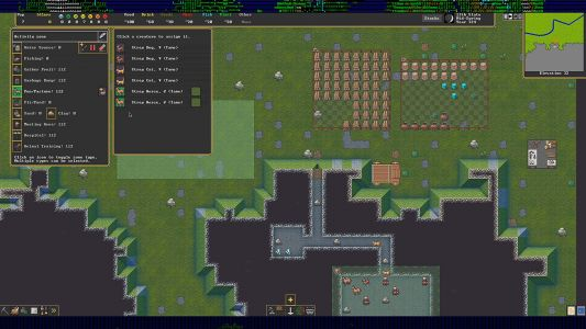 Dwarf Fortress's new mouse menus make it so much easier to dig deeper
